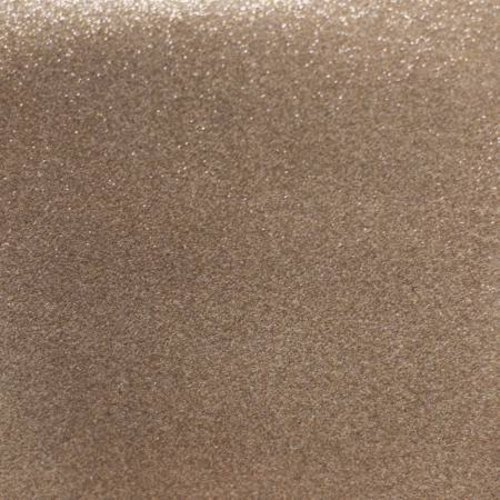 Mikri World Glitter Mirror Vinyl Roll in Light Copper