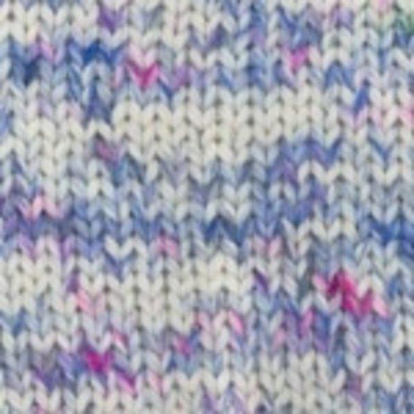 Plymouth Yarn Baby Alpaca Grande Hand Dyed Yarn in Cream/Blue/Purple 0145