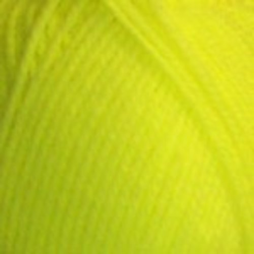 Plymouth Yarn Encore Worsted Yarn in Neon Yellow