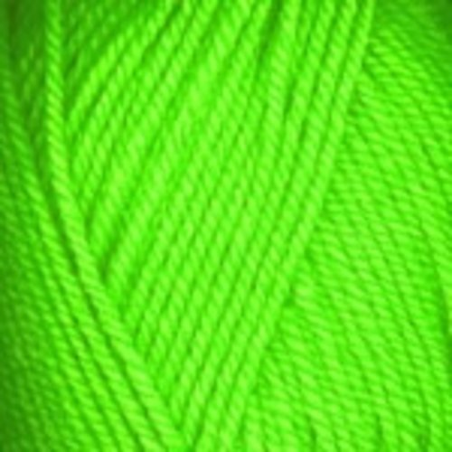 Plymouth Yarn Encore Worsted Yarn in Neon Green