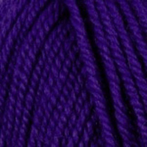 Plymouth Yarn Encore Worsted Yarn in Bright Purple
