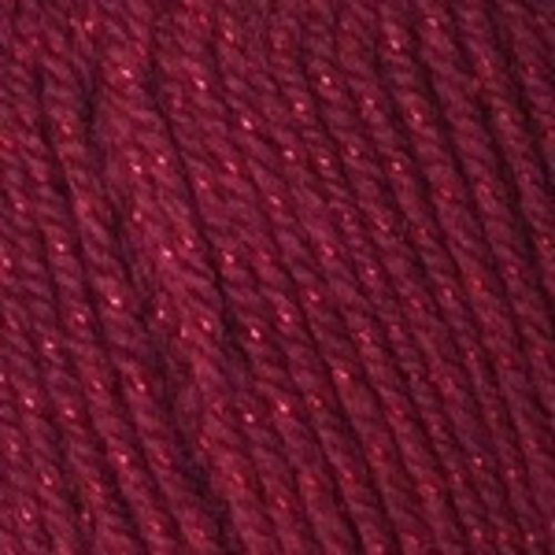 Plymouth Yarn Encore Starz Yarn in Deep Burgundy