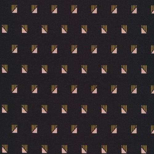 Cloud 9 Fabrics Retro in Black Organic
