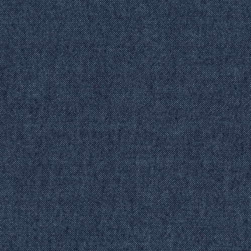 Robert Kaufman Flannel Chambray in Denim