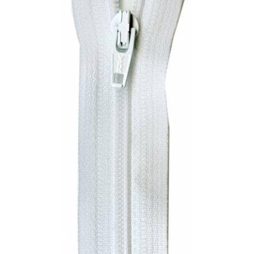"YKK Ziplon Coil Zipper 14"" White"