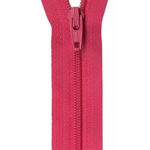 "YKK Ziplon Coil Zipper 14"" American Beauty"