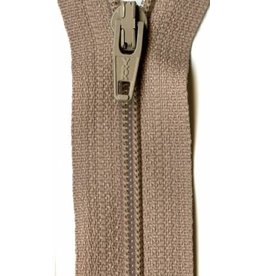 "YKK 14"" Zipper in Beige"