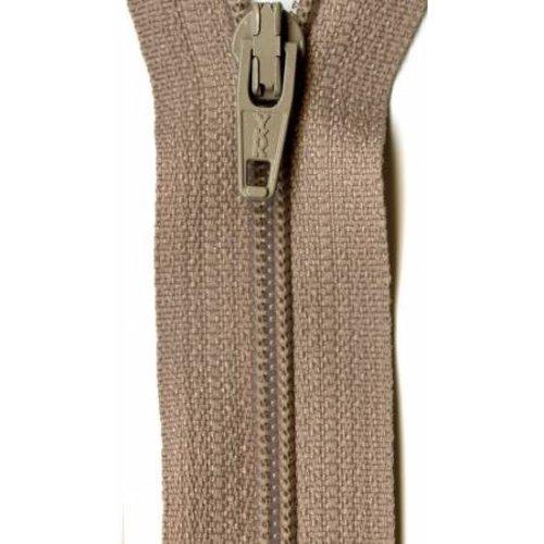 """YKK 14"""" Zipper in Beige"""