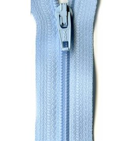 YKK 14' Zipper in Baby Blue