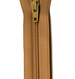 "YKK 14"" Zipper in Bronze"