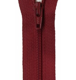 "YKK 14"" Zipper in Cherry"