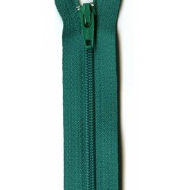 "YKK 14"" Zipper in Kelly Green"