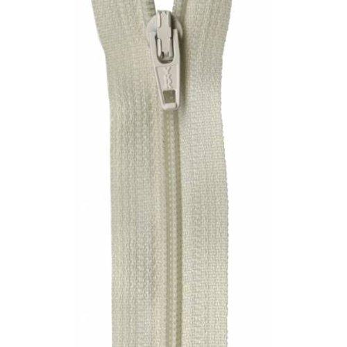 "YKK 14"" Zipper in Natural"