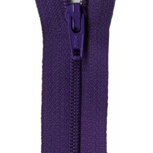 """YKK 14"""" Zipper in Purple"""