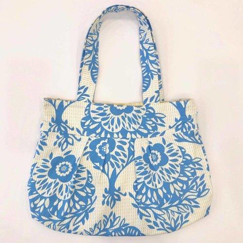 Sample - Pleated Tote Bag