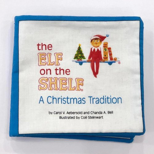 Sample - Elf On The Shelf Soft Book