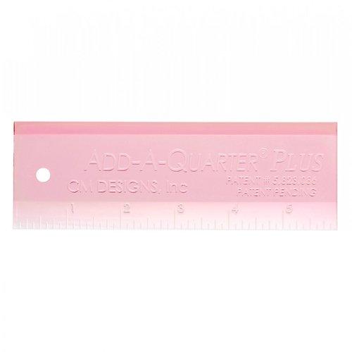 """Add A-Quarter Plus 6"""" Ruler Pink"""