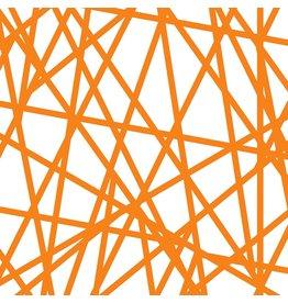 Sharp Stripe in Orange