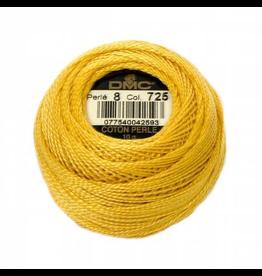 DMC Pearl Cotton Ball Size 8 in Topaz 725