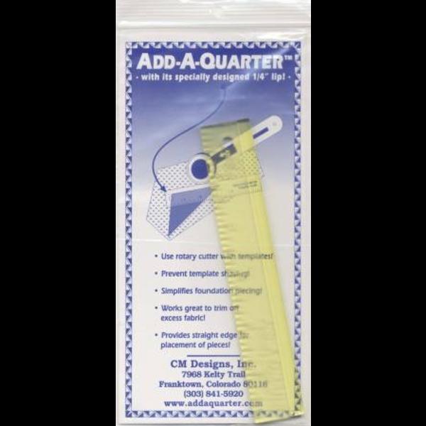 """Add a Quarter Ruler 1"""" x 6"""""""