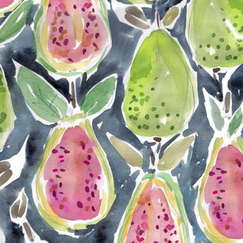 QT Fabrics Guava in Gray<br />by Kaffe Fassett