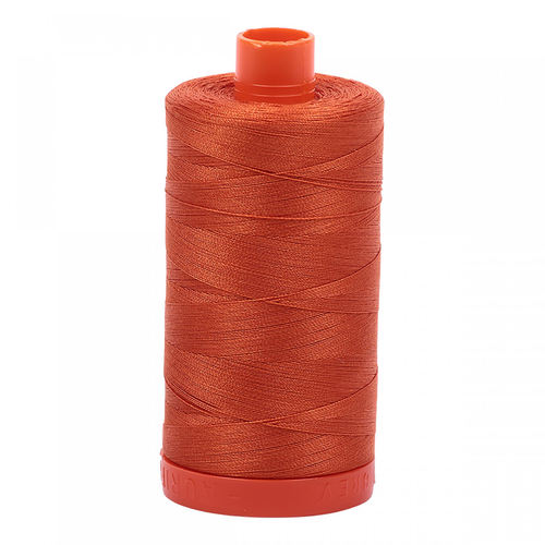 Aurifil Aurifil Mako Cotton Thread in Rusty Orange 2240