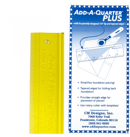 "Add A-Quarter Plus 6"" Ruler"