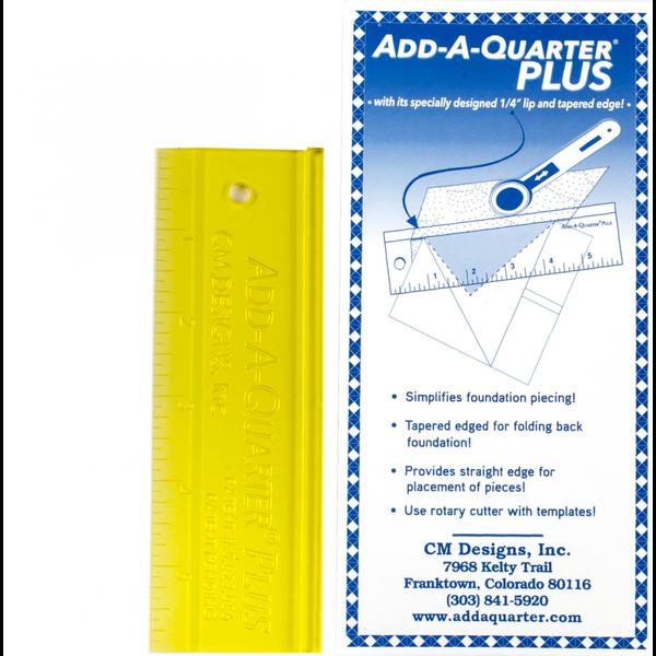 """Add A-Quarter Plus 6"""" Ruler"""