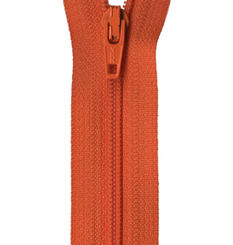 "YKK 14"" Zipper in Burnt Orange"