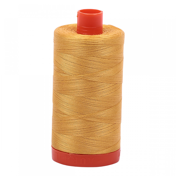 Aurifil Aurifil Mako Cotton Thread in Tarnished Gold 2132