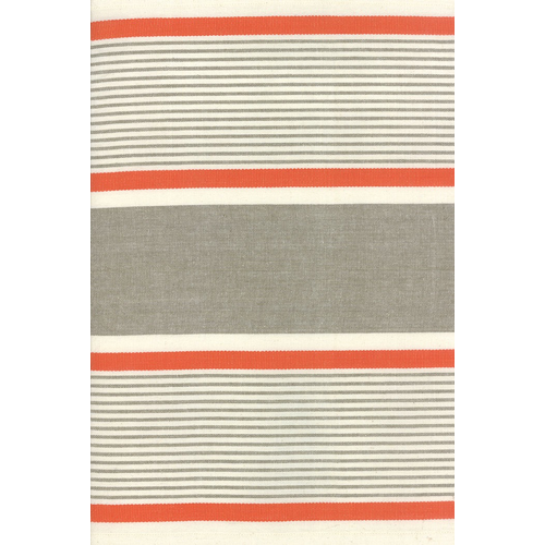 Moda Fiesta Wide Stripe Toweling in Mango