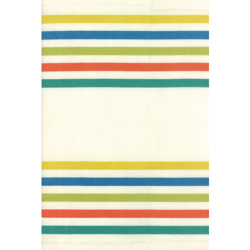 "Moda 16"" Fiesta Stripe Kitchen Toweling in Salsa"