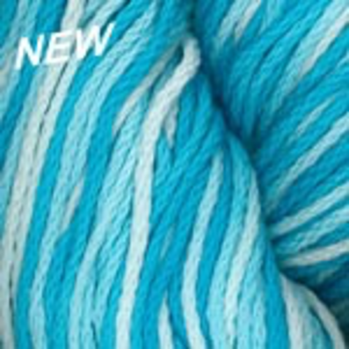 Plymouth Yarn Fantasy Naturale Yarn in 9113 Aqua Variegated
