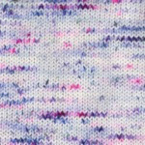 Plymouth Yarn Happy Feet 100 Splash Hand Dyed Yarn in Blueberry