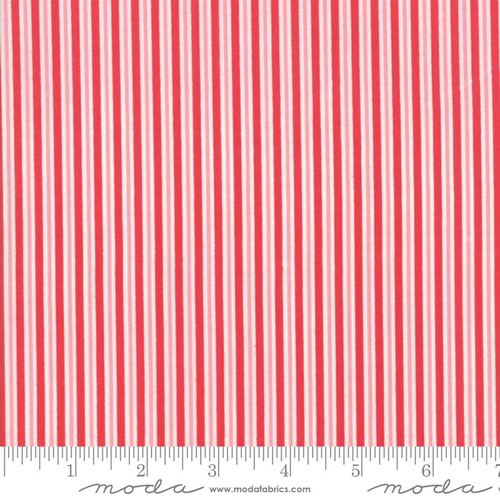 Moda Candy Cane Stripe in Peppermint