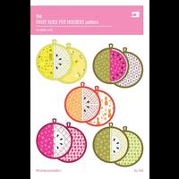 Fruit Slice Pot Holders Pattern