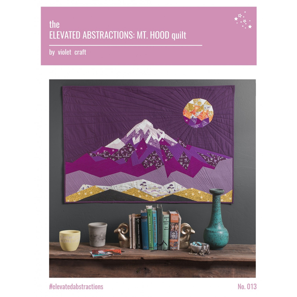 Elevated Abstractions: Mt. Hood Quilt Pattern