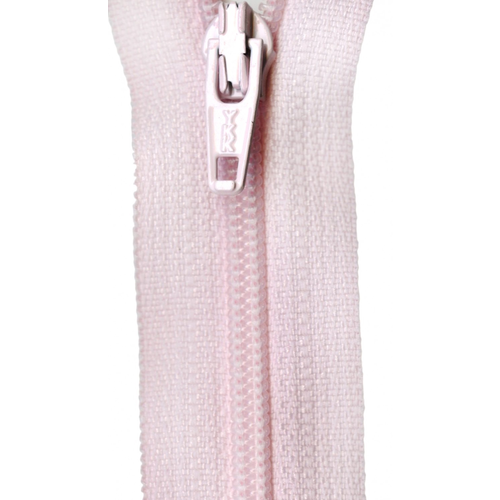 "YKK Ziplon Coil Zipper 14"" Pink"