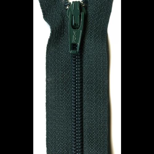 """YKK Ziplon Coil Zipper 14"""" Dark Green"""