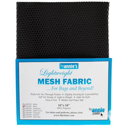 By Annie Lightweight Mesh in Black