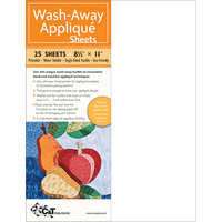 C&T Publishing Wash Away Applique Sheets