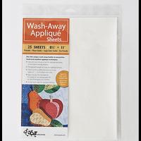 C&T Publishing Wash Away Applique Sheets