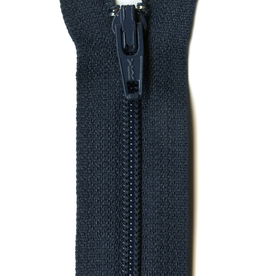 "YKK 14"" Zipper in Navy"