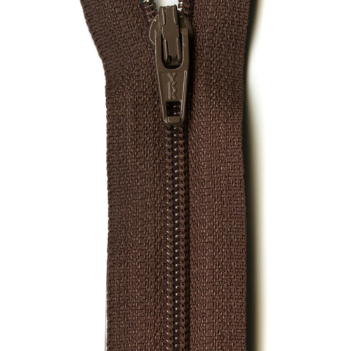 "YKK Ziplon Coil Zipper 14"" Ginger"