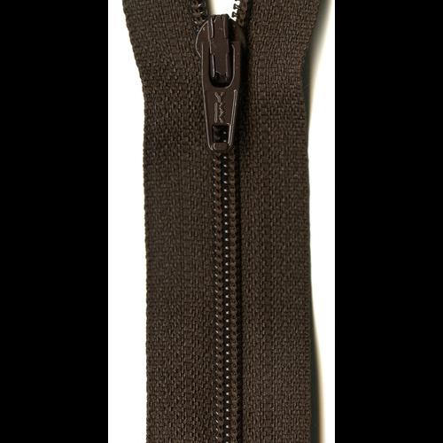 "YKK 14"" Zipper in Bronze"