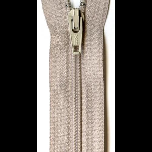 """YKK Ziplon Coil Zipper 14"""" Bone"""