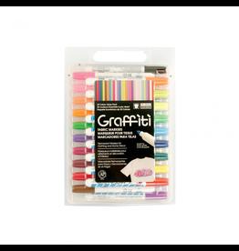Uchida Graffiti Fabric Markers