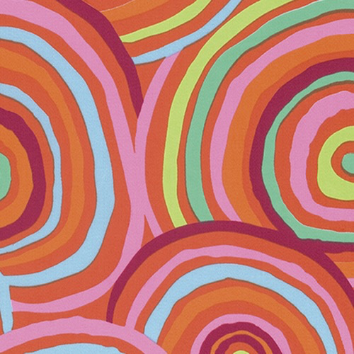 "Rowan 108"" Circles in Red<br />