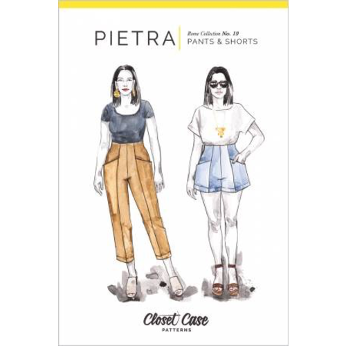 Pietra Pants & Shorts Pattern