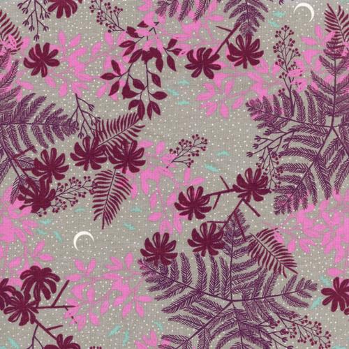 Cotton + Steel SALE Hotsprings in Purple